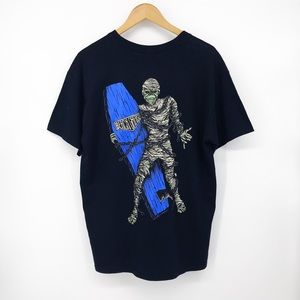 Men's Beach Grease Surf Mummy Tee Large